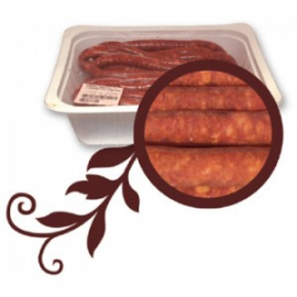 Longaniza Fresca Bandeja 400 grs. (7,72€/kg)