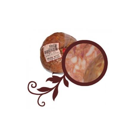 Morcón Bola Rojo Pieza 850 grs. (6,23€/kg)